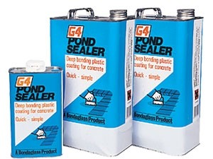 G4 pond sealer 5kg clear for Koi pond sealer