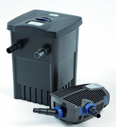 Oase filtomatic 7000 pond filtration set with 4000 lph pump for Set up pond filter system