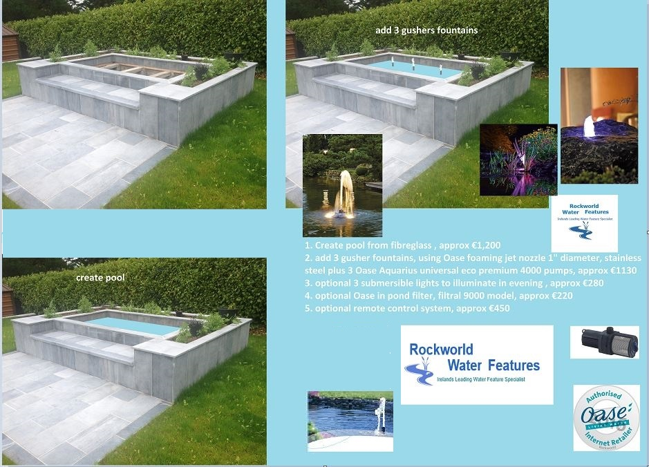 design for water feature