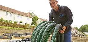 pond and filter spiral hose pipe