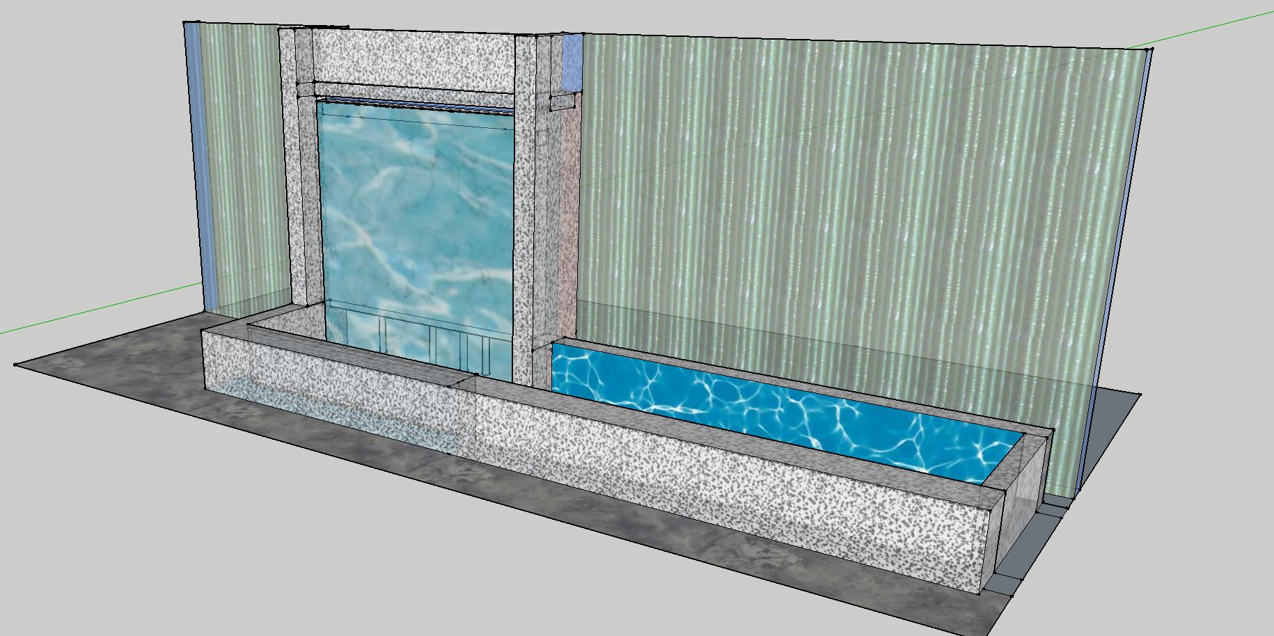 waterwall design concept