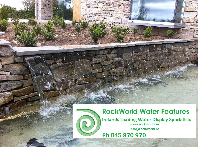 4500mm waterwall by rockworld