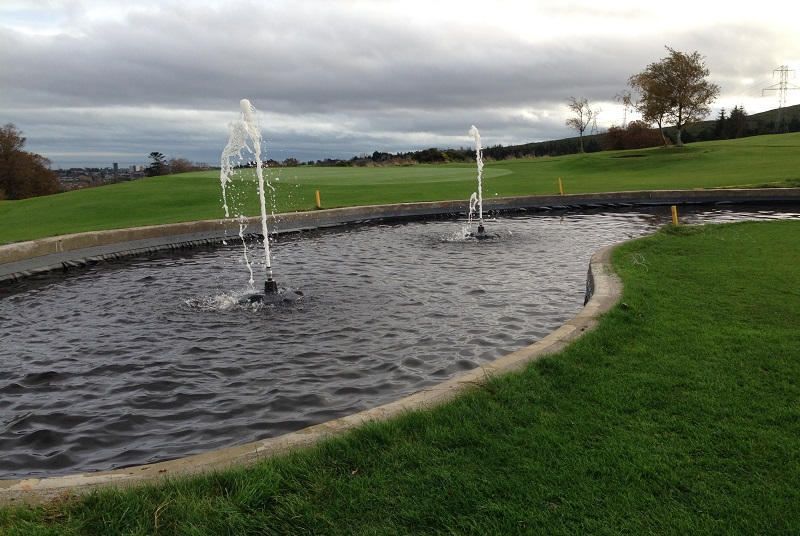floating fountains for golf course