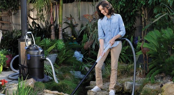 pond vacuums are great for cleaning ponds