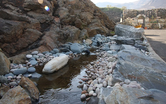 pebble stream