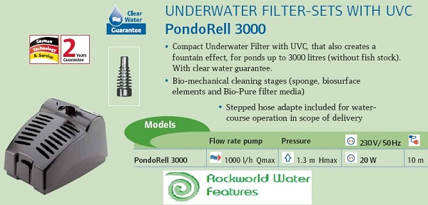 basic pond filter with uv