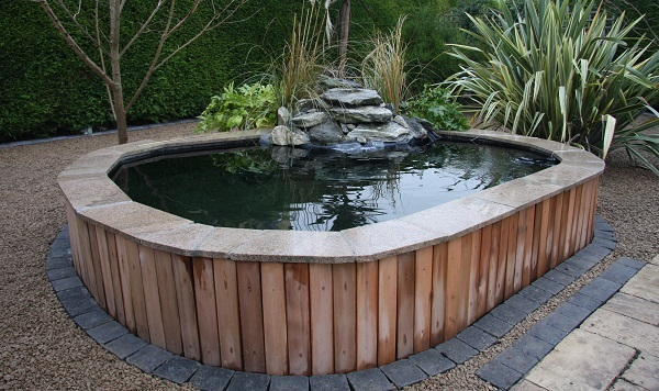 Rockworld water features installation for Building a fountain pond