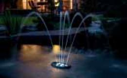 water starlet fountain display